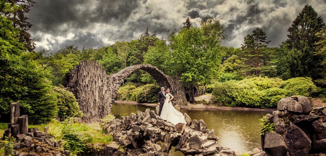 zdjęcia ślubne Kromlau