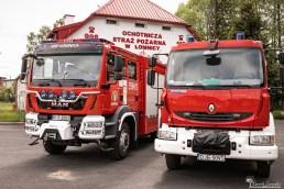 Ochotnicza Straż Pożarna w Łomnicy - sesja biznesowa | fotograf Konrad Żurawski
